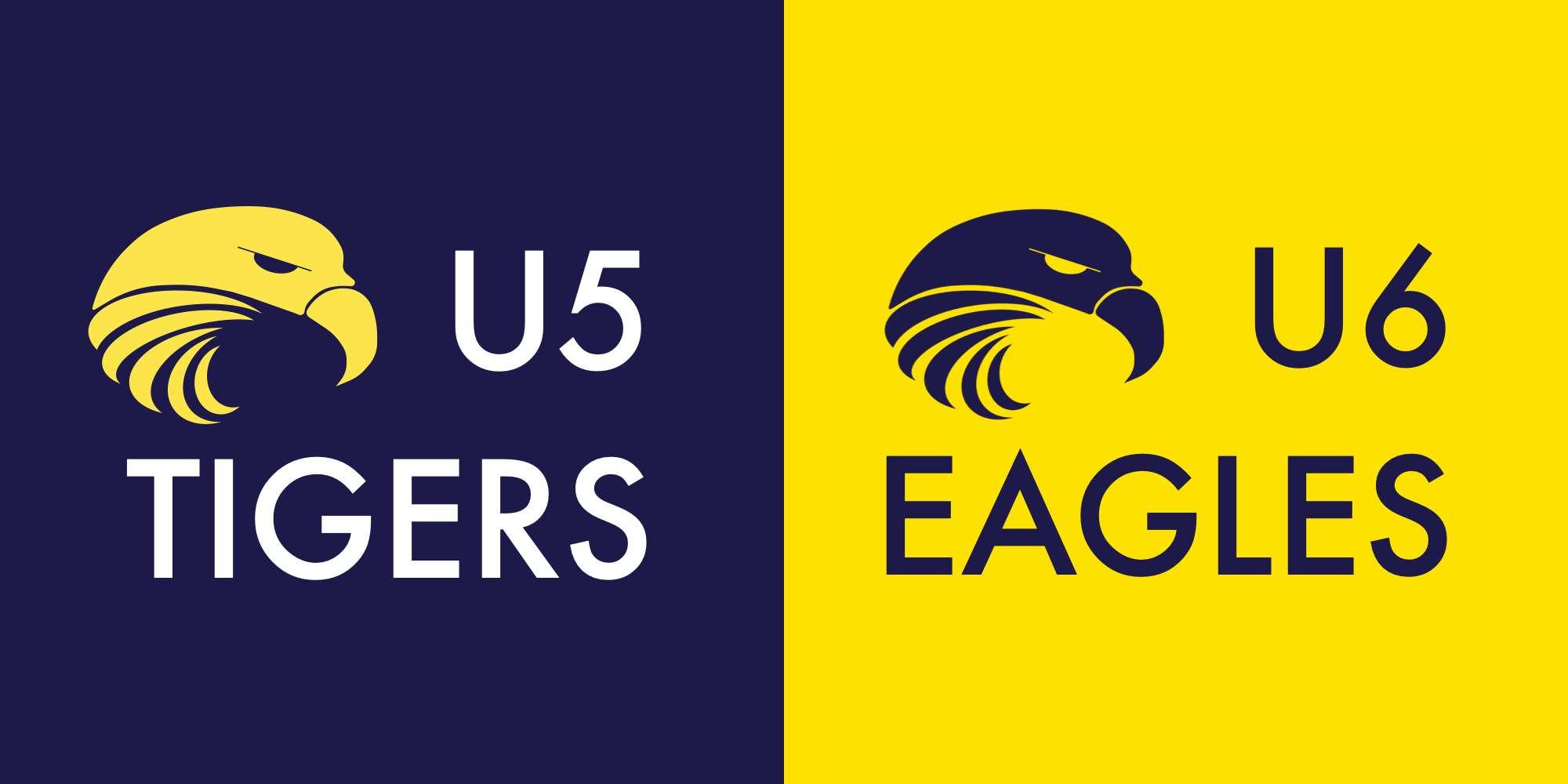 Welcome U5 Tigers and U6 Eagles
