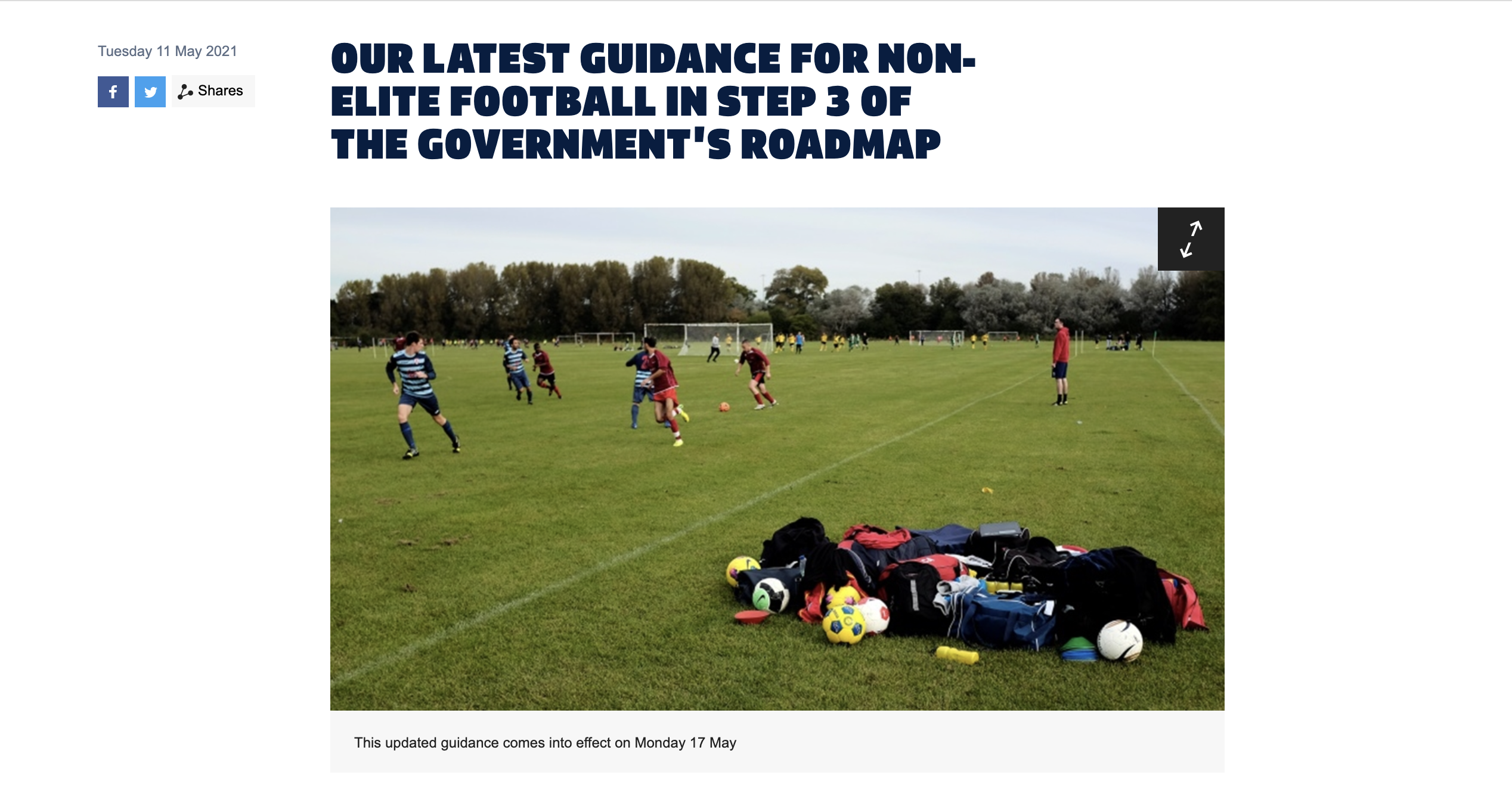 Read more about the article Updated FA Guidance. Step 3